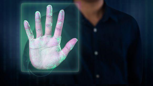 biometrische toegangscontrole handpalm