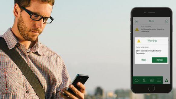Nova app voor alarm inbraak en branddetectie
