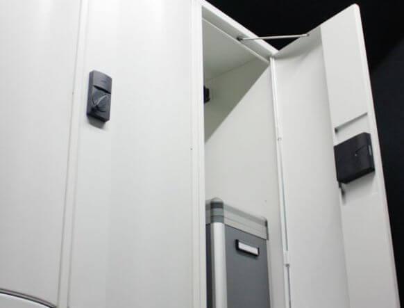 Lockers integratie toegangscontrole