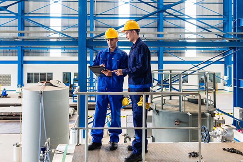 Toegangscontrole in industrie