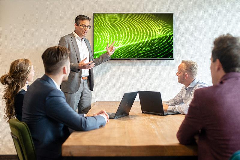 Presentatie werkwijze toegangscontrolesysteem