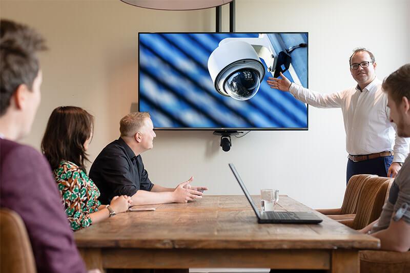 camerabewaking integratie toegangssysteem