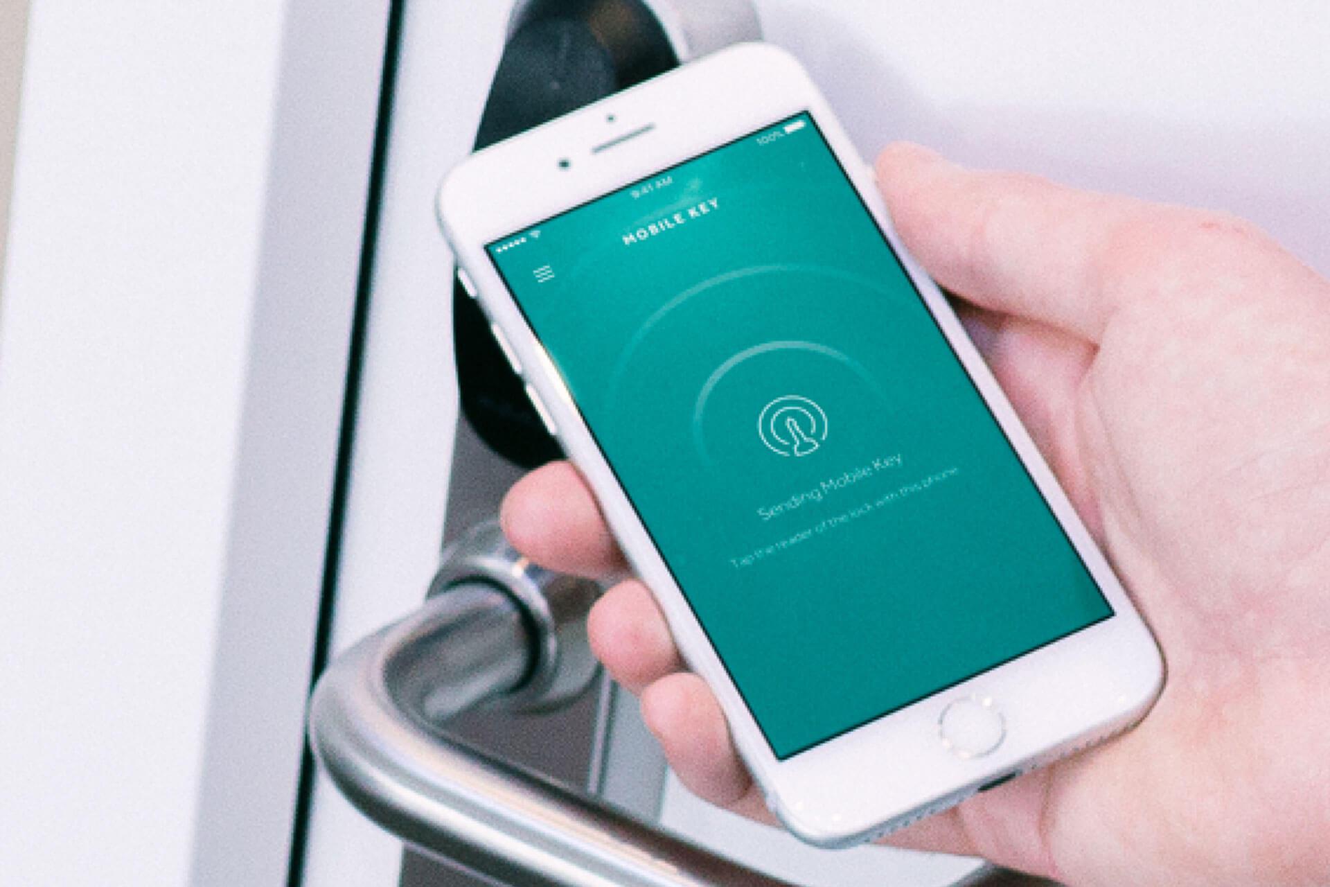 Toegangscontrole via Smartphone